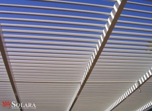 Solara Adjustable Louvered Roof System