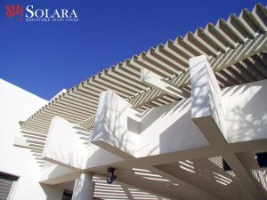 Solara can custom make a design patio cover to fit your needs and existing substructure.