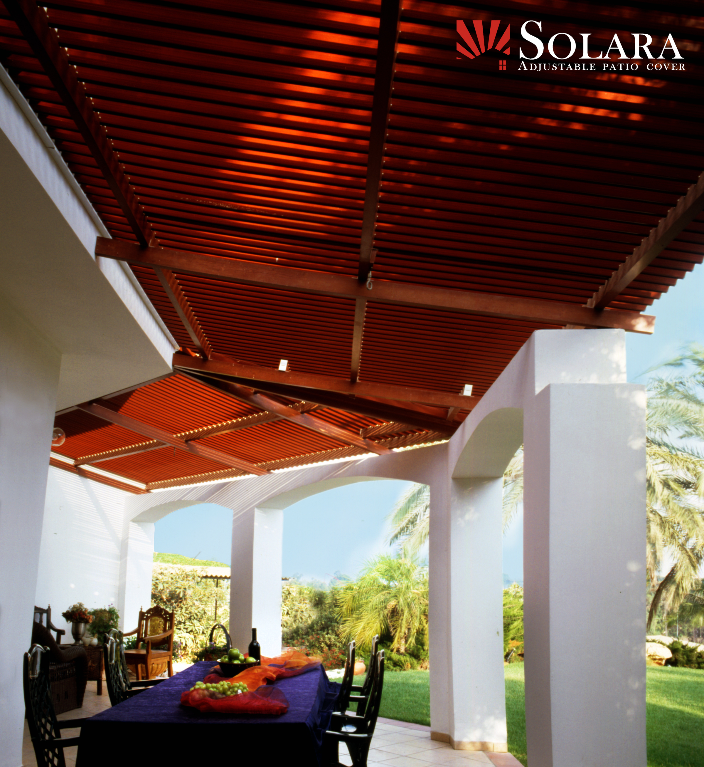 Aluminum Wood Grain Patio Covers Solara Patio Cover