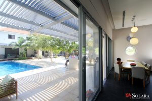 Solara Patio Coverarticlespatio Covers Aluminum Vs Wood Louvered Roof System In California