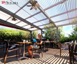 Solara Patio Cover For The Commercial Industry