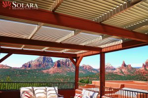 Aluminum Roof System in Sedona Arizona.