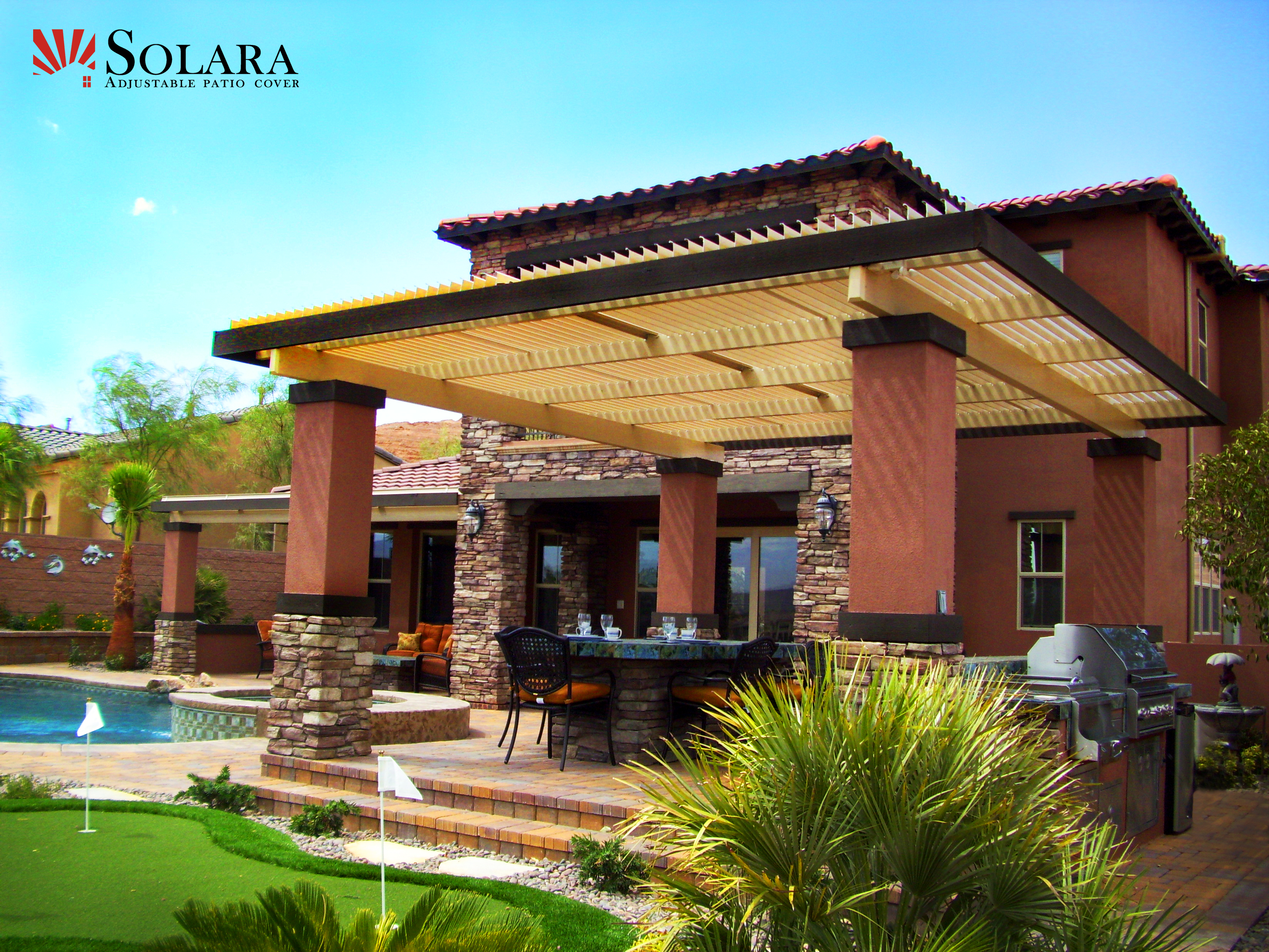 Make The Best Out Of Your Outdoor Living With The Solara Patio Cover