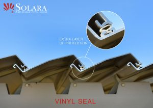 Extruded Louver Vinyl Seal
