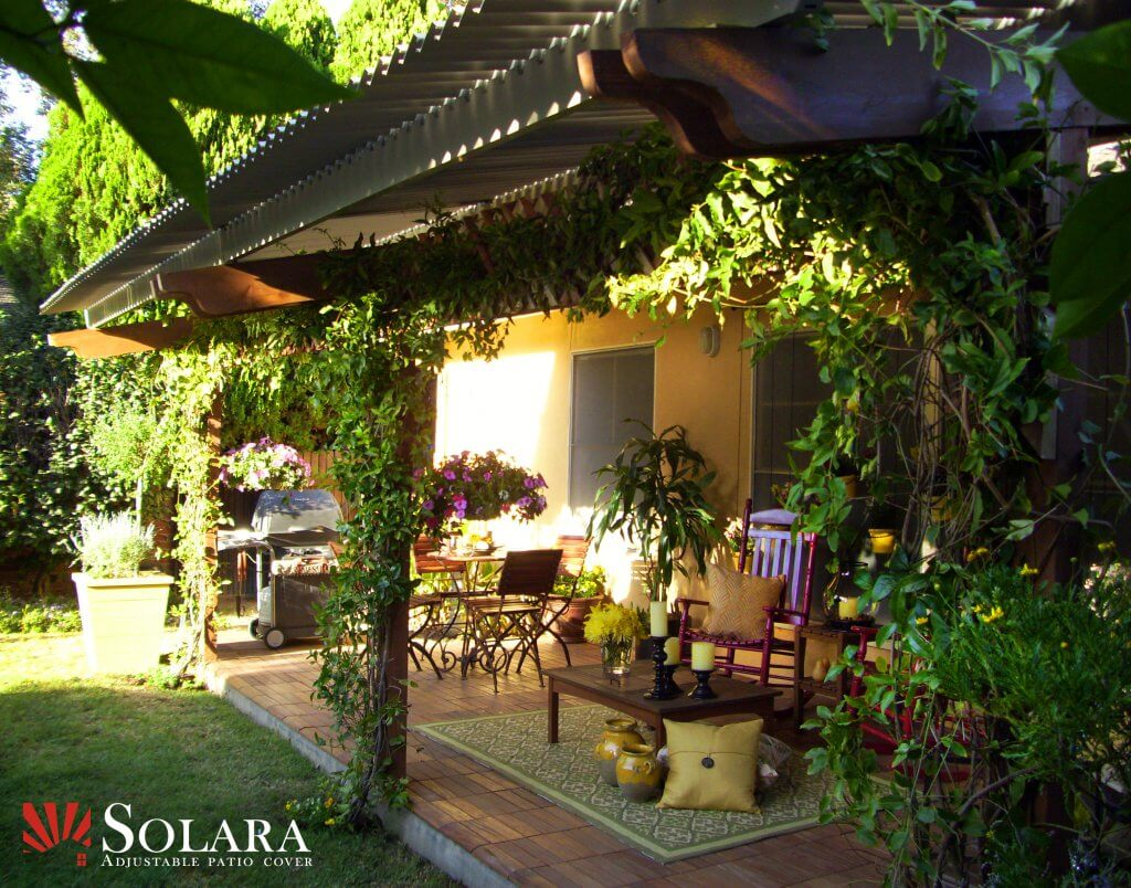 Enjoy Your Outdoor Space With A Solara Louvered System