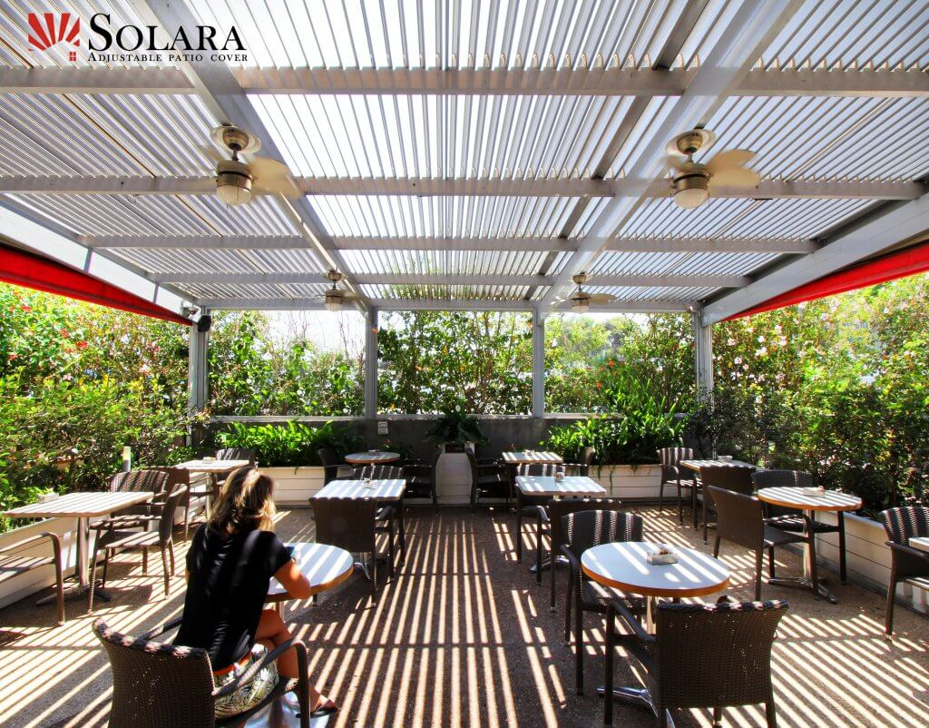 Patio Covers And Louvered Roof System For Commercial Projects