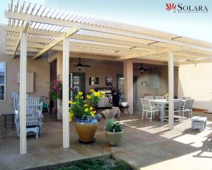 With the heavy duty louvered system you wont have to compromise with a solid patio cover.