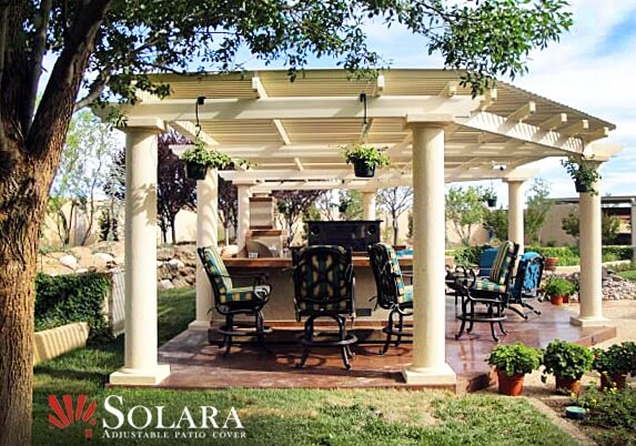 Stand Alone Gazebo Solara Patio Cover